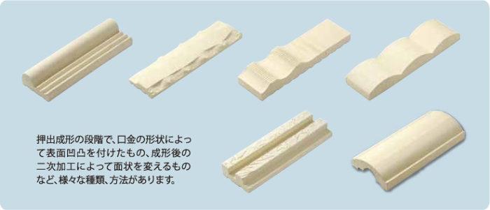 湿式製法タイルの特殊面状