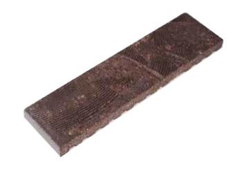 湿式製法タイルの面状種類「ブラッシュ面」
