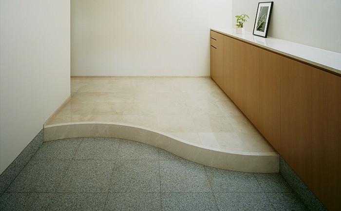 玄関床-御影石-施工例写真