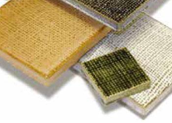 湿式製法タイルの面状種類「布面」