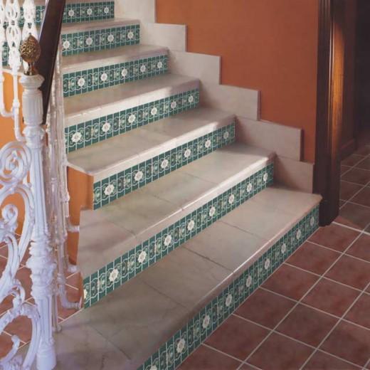階段タイル