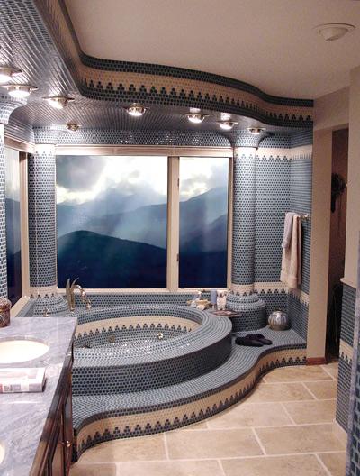 モザイクタイル 浴室