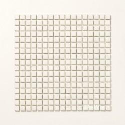 ホワイトモザイクタイル ブライト 15角