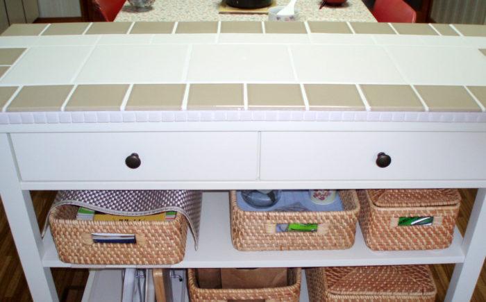 カウンターテーブル(大)キッチン側
