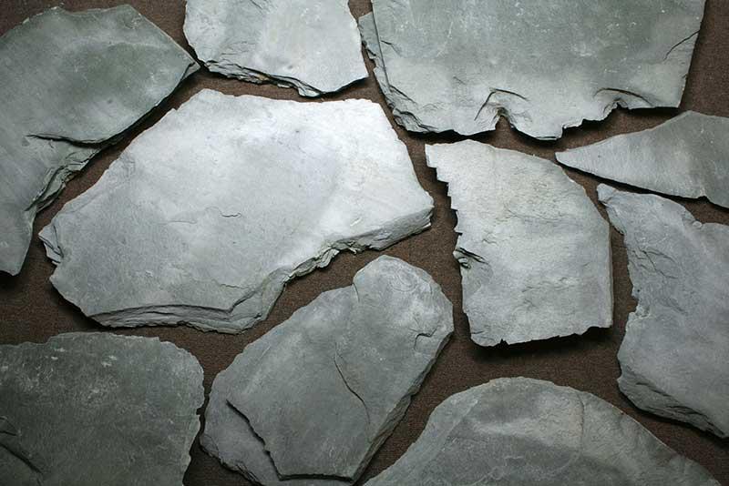 粘板岩 クレソラ 乱形石材 割り...