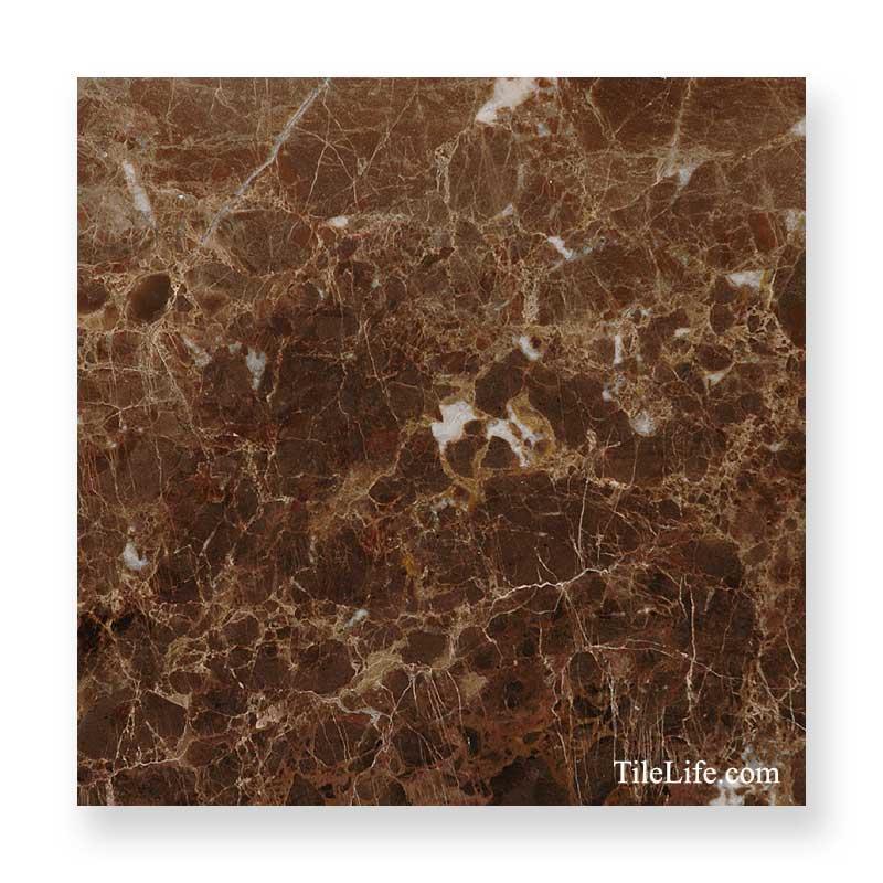 マロンブラウン 600角 大理石 (メーカー: XRO)