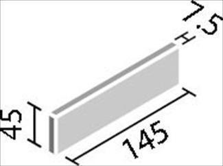 リクシル(INAX) 役物タイル HALALLシリーズ プレリュード 調整用平[岩肌面] HAL-355B/PIW-1