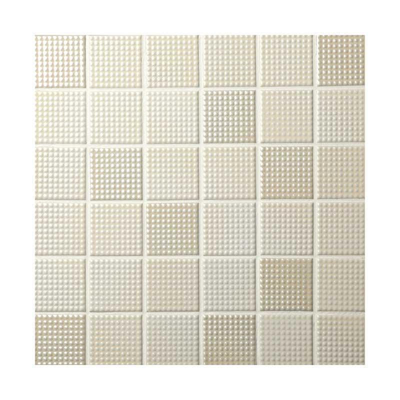 モザイクタイル プッチーノ 47mm角平紙張り PN-01  (¥750/シート以下)