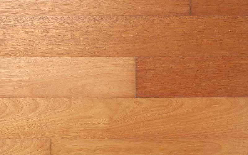 メルバウ 置き敷き工法 フラットフローリング 厚単板 幅広 UVクリアオイル塗装
